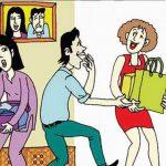 Hạnh phúc gia đình đang bi bị đe dọa, hủy diệt của tội phạm người phụ nữ thứ hai